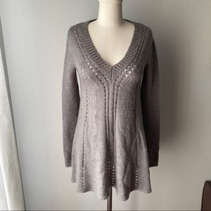 Anthropologie SHAE A-Line Sweater Dress